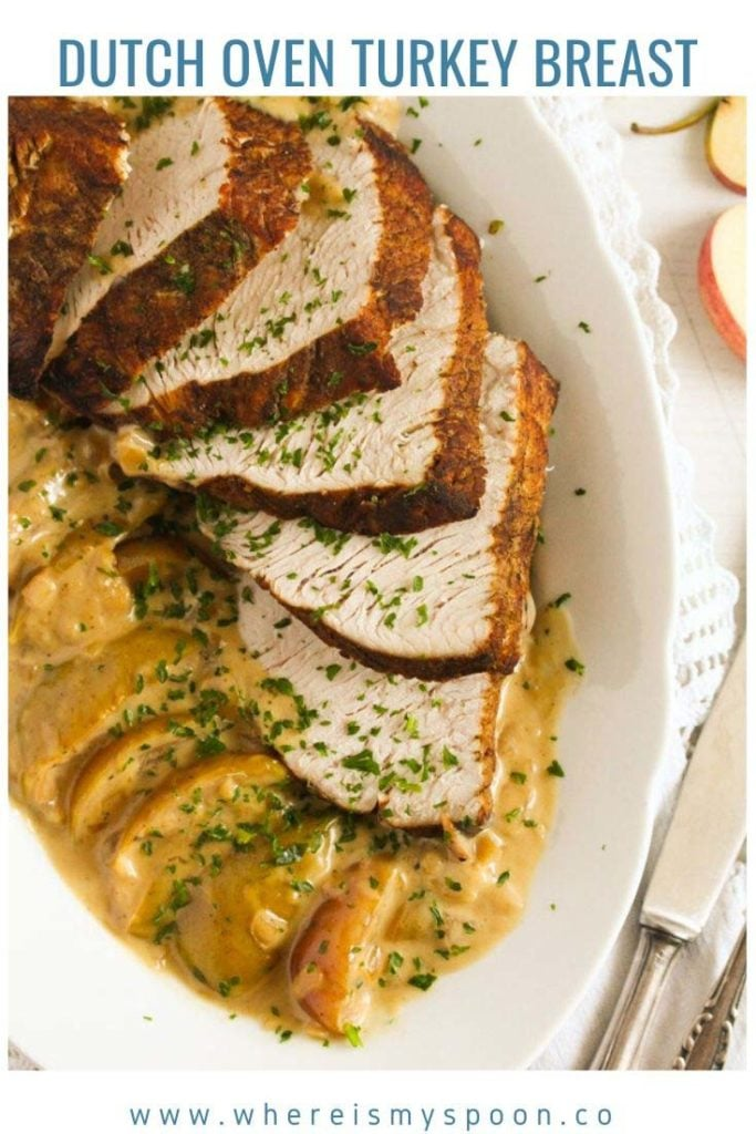 dutch oven turkey breast 683x1024 Dutch Oven Turkey Breast
