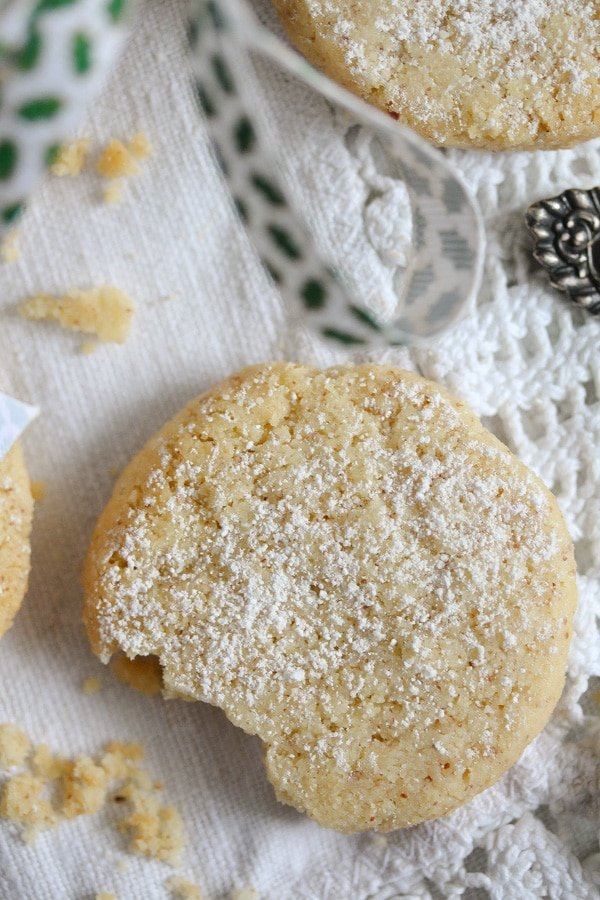 eggless sugar cookies on the table