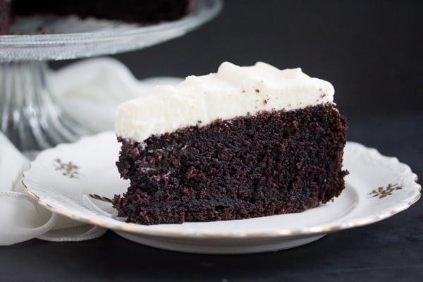 chocolate cake 7 Chocolate Cake with Cream Cheese Frosting