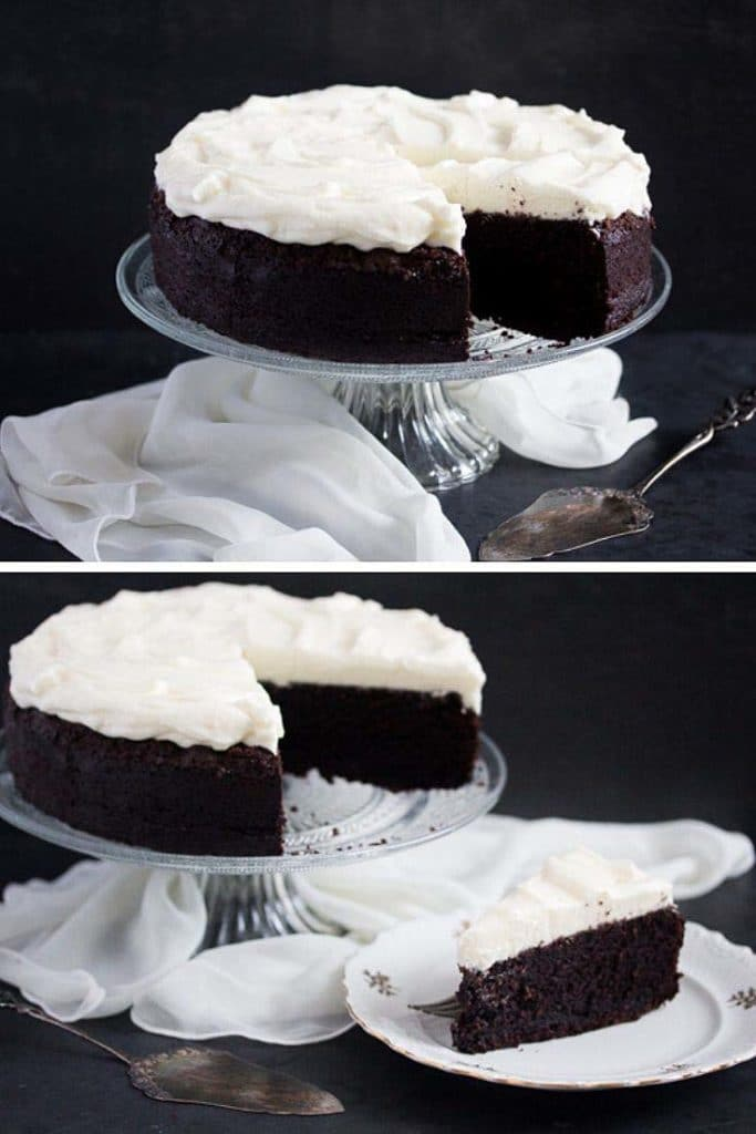best chocolate cake with cream cheese frosting