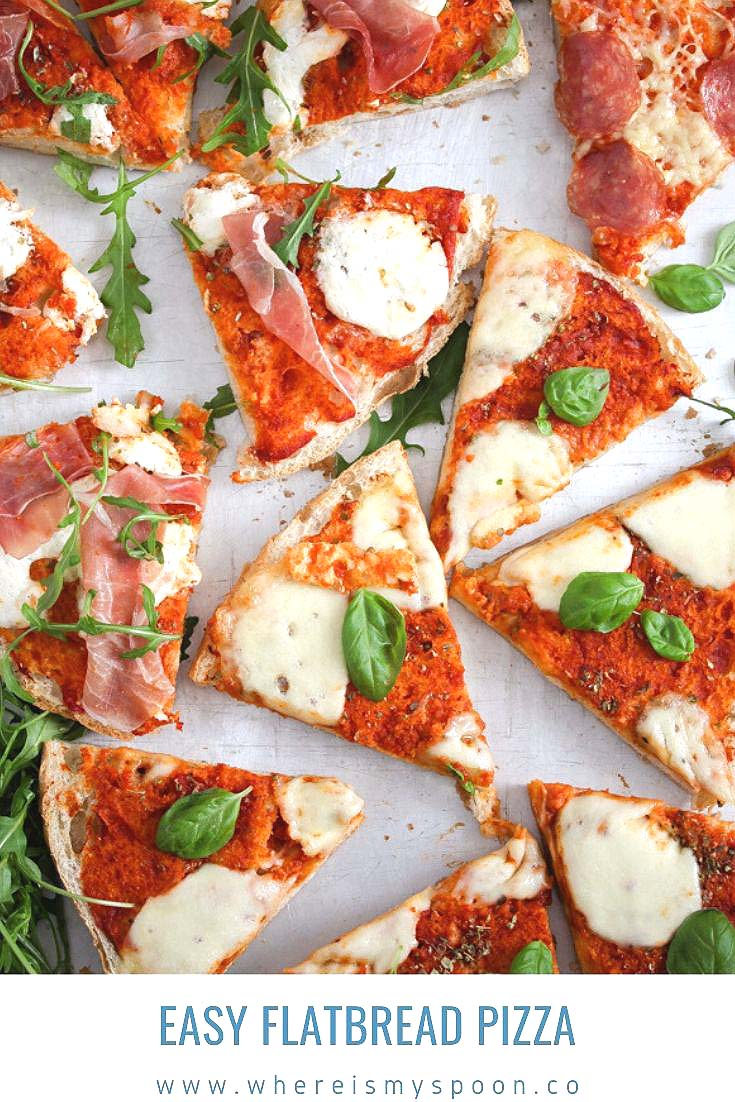 easy flatbread pizza 1 Easy Flatbread Pizza