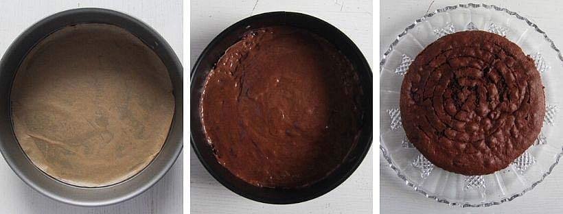 how to make a cake base with cocoa