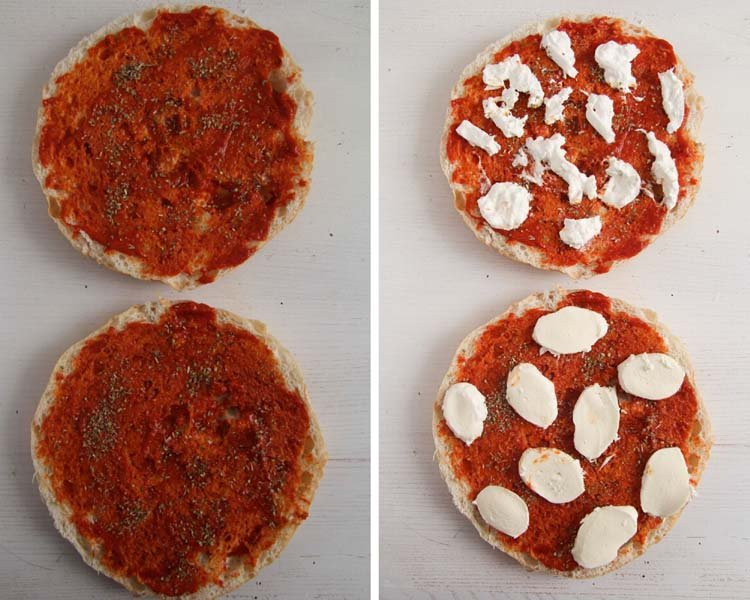 how to make flatbread pizza 1 Easy Flatbread Pizza