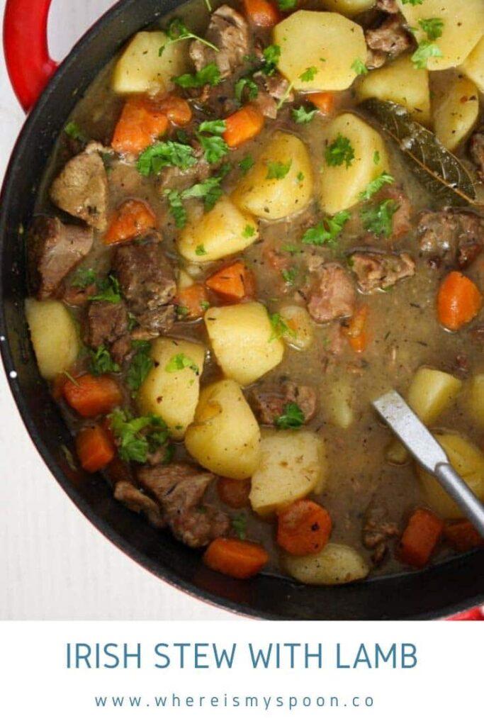 irish stew with lamb 683x1024 Irish Stew Recipe with Lamb and Potatoes