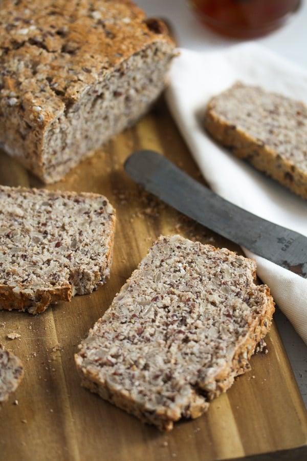 no knead buckwheat bread