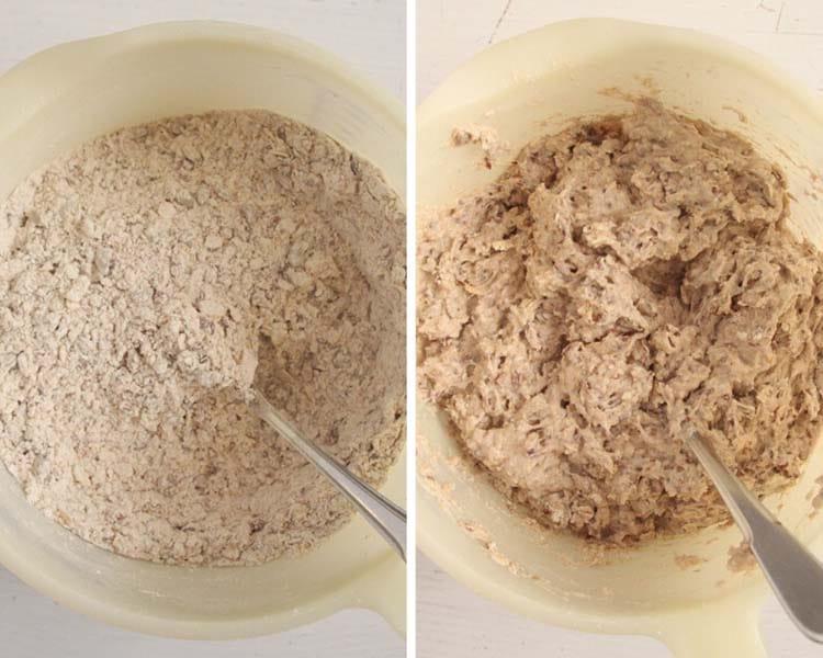 dough for buckwheat bread