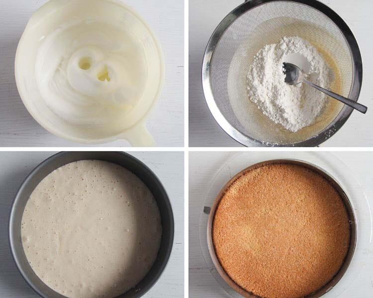 how to make a spongo cake base