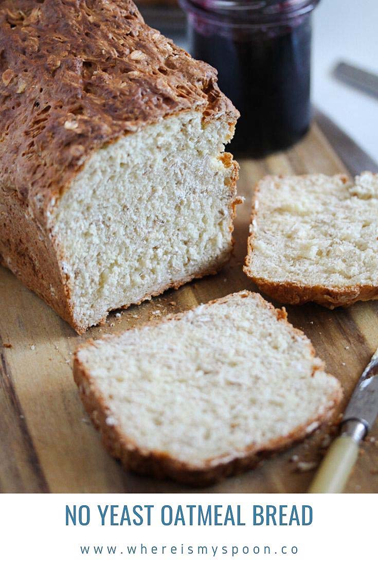 , Oat Bread without Yeast