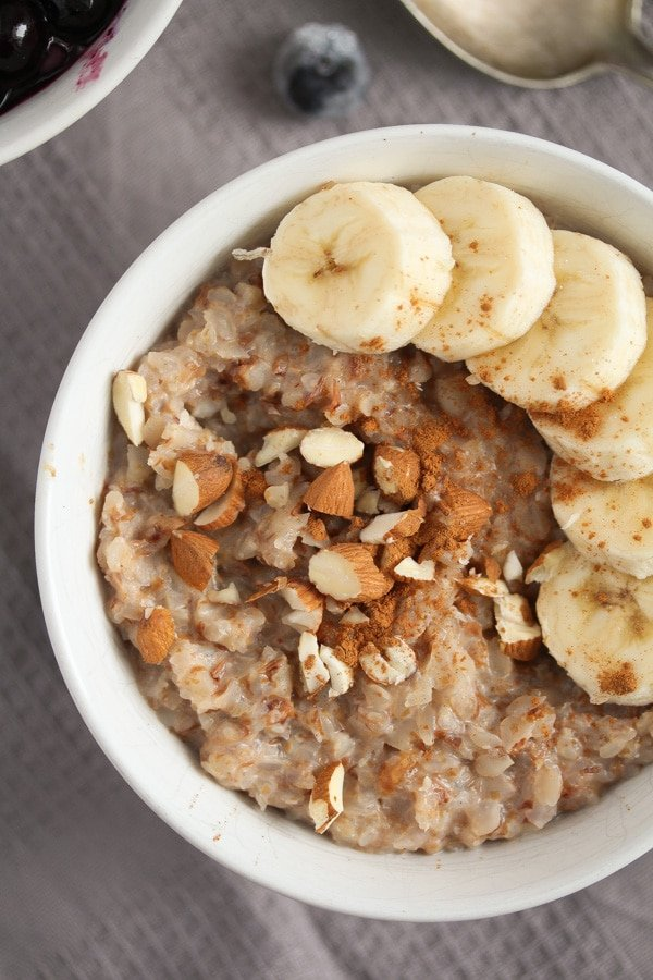 buckwheat groats porridge vegan