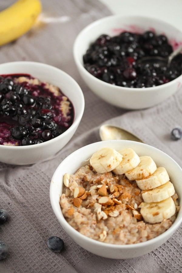 easy breakfast porridge with buckwheat