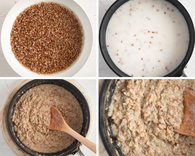 how to make buckwheat porridge step by step
