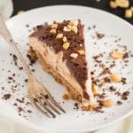 no-bake peanut butter chocolate pie