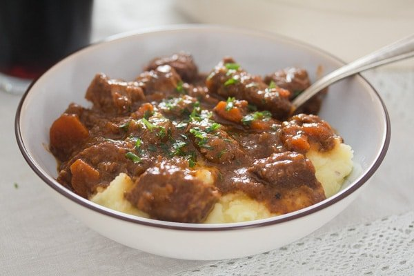 Guinness Irish Stew with Beef