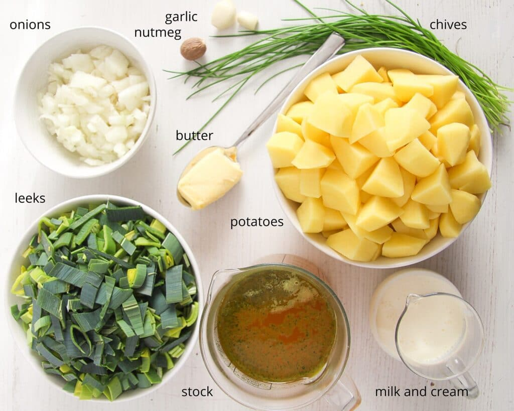 ingredients irish potato soup