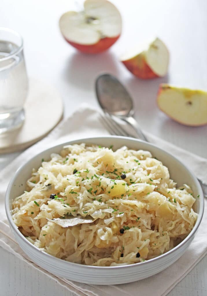 german kraut ready to be served