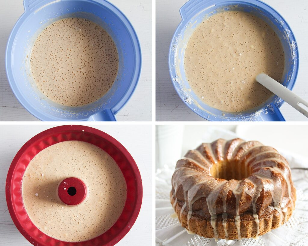 step by step baileys bundt cake