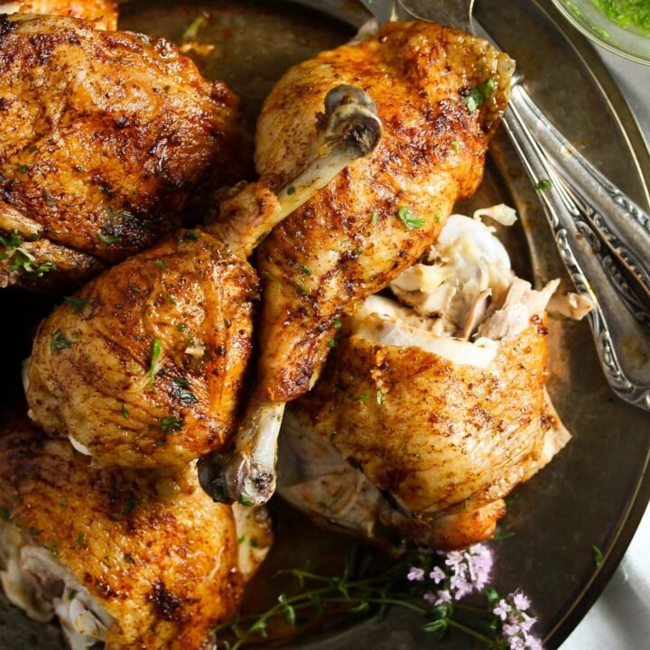 Roasted Half Chicken (How to Bake Chicken Halves)