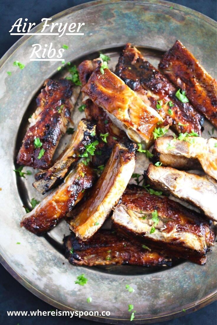 air fryer ribs, Air Fryer Ribs