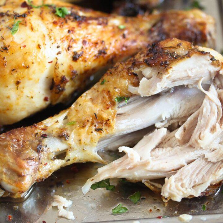 falling off the bone chicken meat