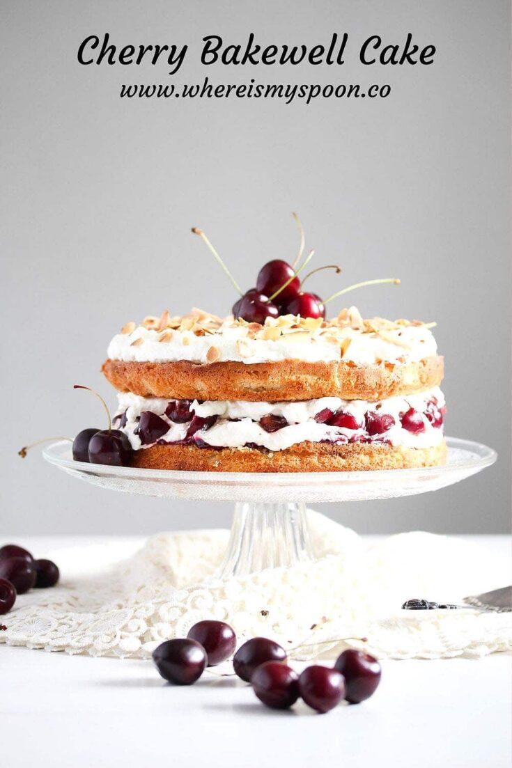 cherry bakewell cake, Cherry Bakewell Cake