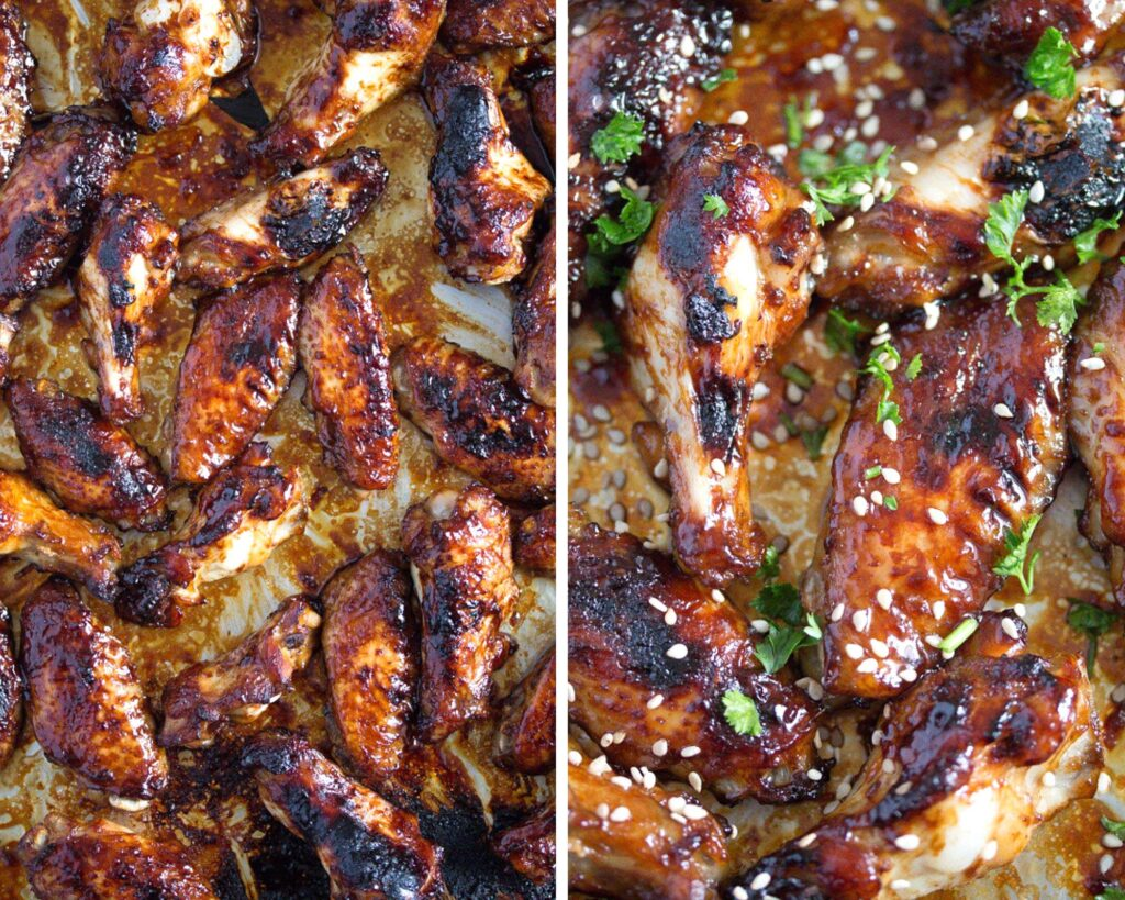 spicy baked chicken wings, Spicy Baked Chicken Wings