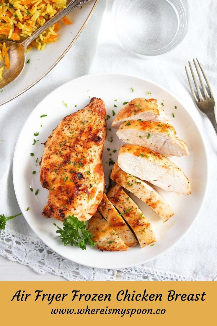 frozen chicken breast in the air fryer, Frozen Chicken Breast in the Air Fryer