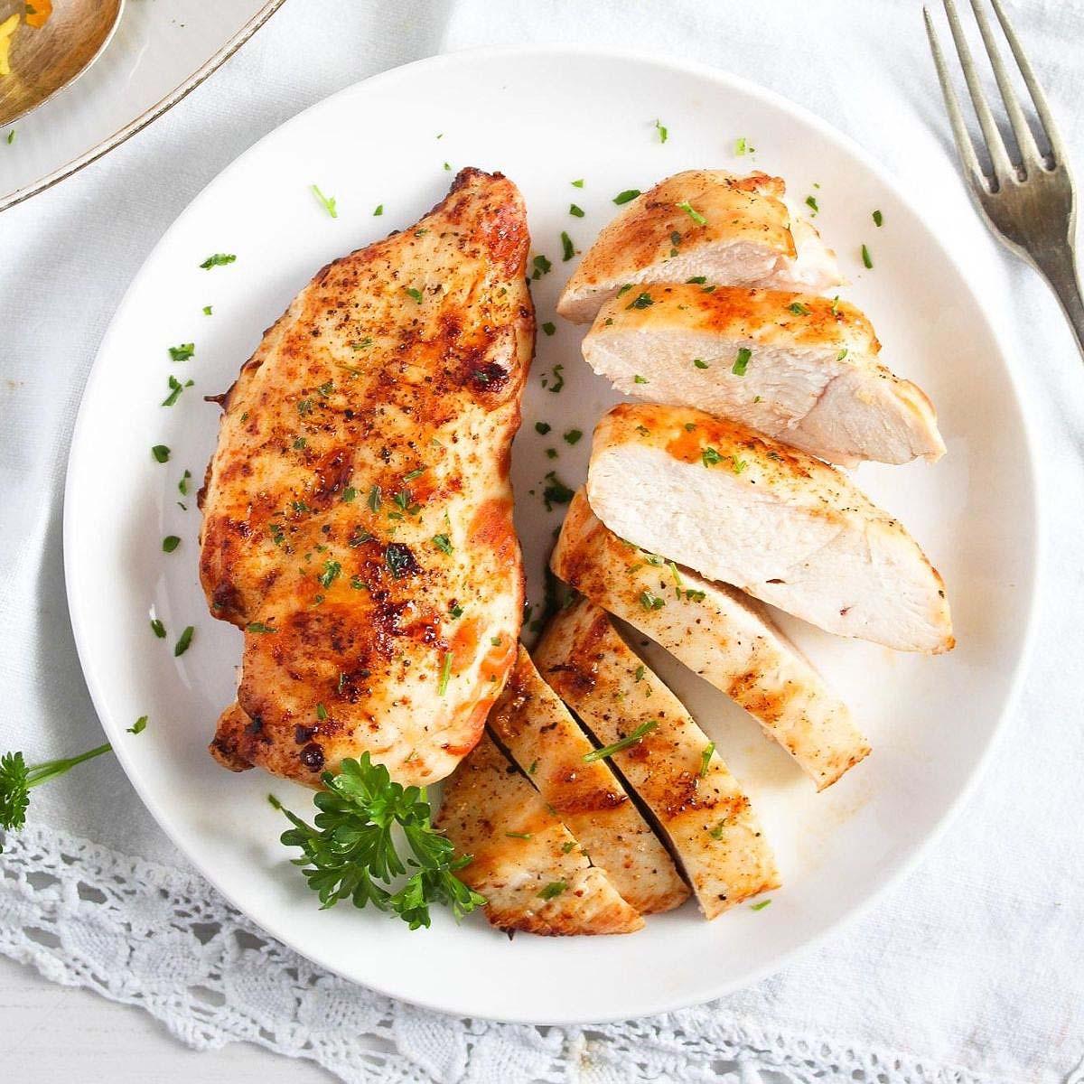 Air Fryer Frozen Chicken Breast