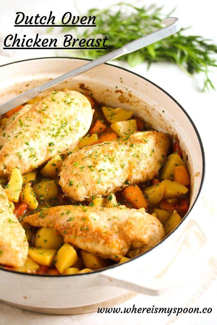 dutch oven chicken breast, Dutch Oven Chicken Breast
