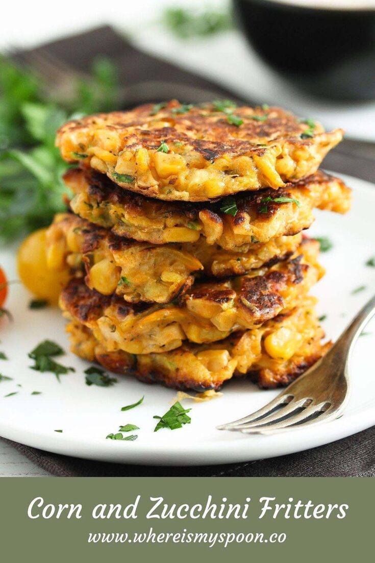 corn and zucchini fritters, Corn and Zucchini Fritters