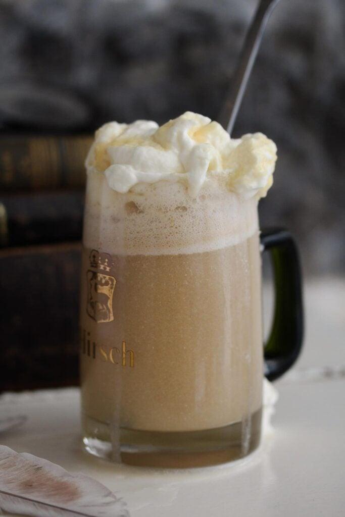 butterbeer recipe alcoholic harry potter inspired in beer mug