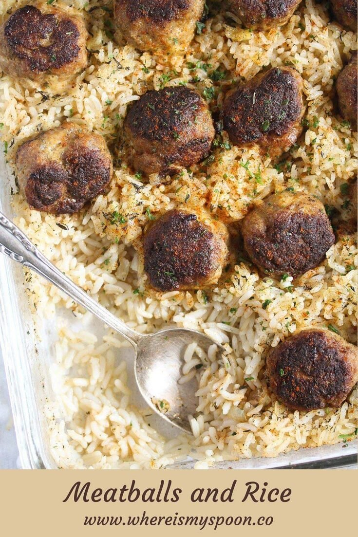 meatballs and rice, Meatballs and Rice