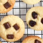 cookies with chocolate chips on top